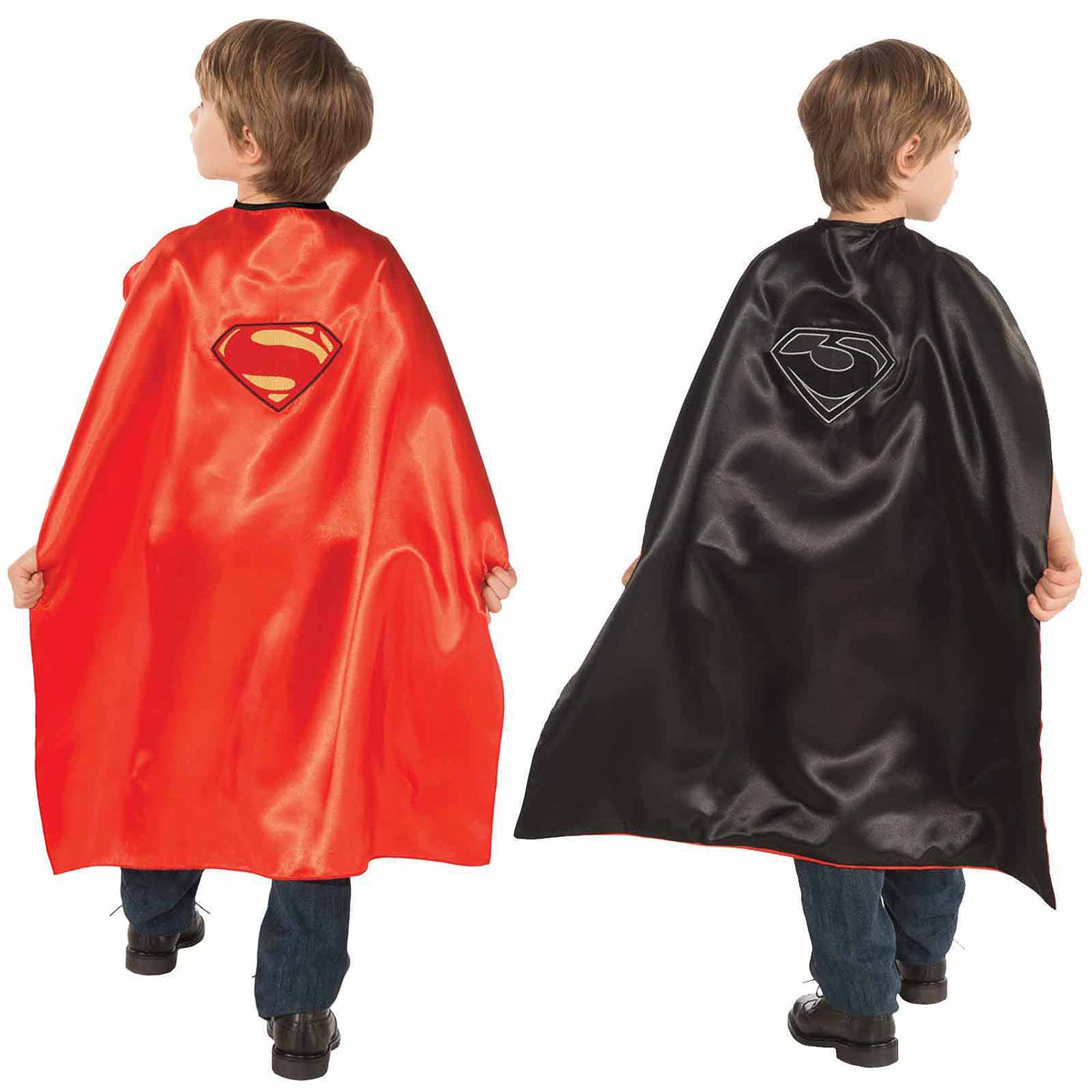 Superman Man of Steel Superman/General Zod Reversible Cape Child Halloween Costume