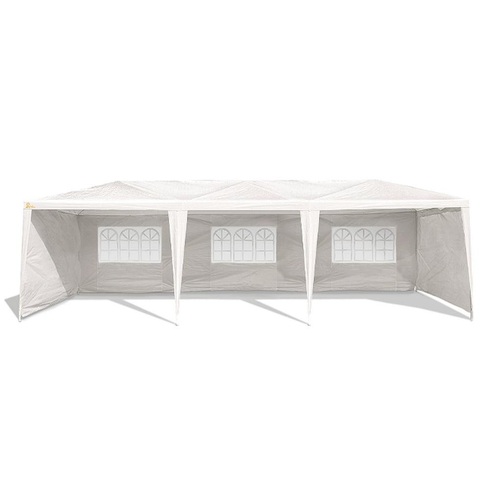 PALM SPRINGS 10' x 30' Party Tent Wedding Canopy Gazebo Pavilion w/ 5