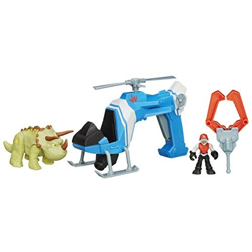 Playskool Heroes Jurassic World Dino Tracker Copter Toy by