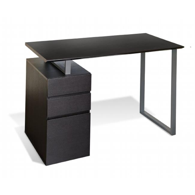 Jesper Office 220 ESP Writing Desk With Drawers   Espresso