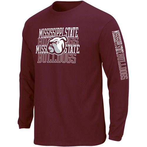 NCAA Big Mens Mississippi St  Long Sleeve Tee