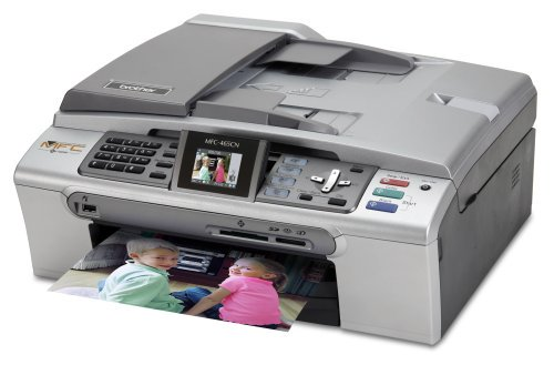 Brother MFC-465CN Color Inkjet All-in-One Printer with Networking
