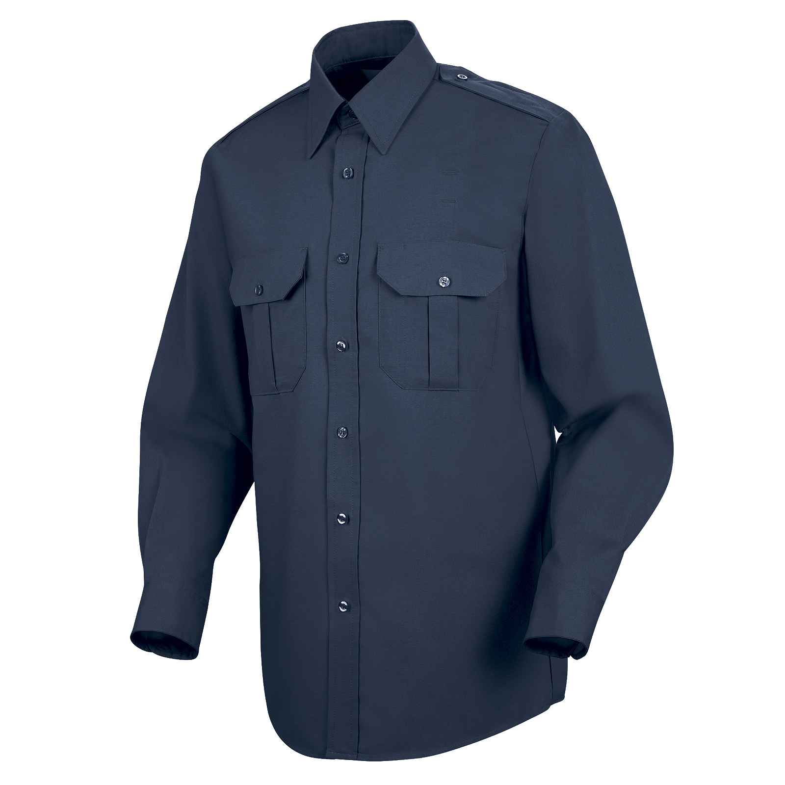 Horace Small Mens Classic Short Sleeve Security Big-Tall Shirt