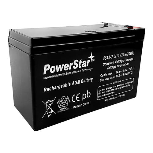 12V 7AH New Battery for GS PORTALAC PX12072 DG126