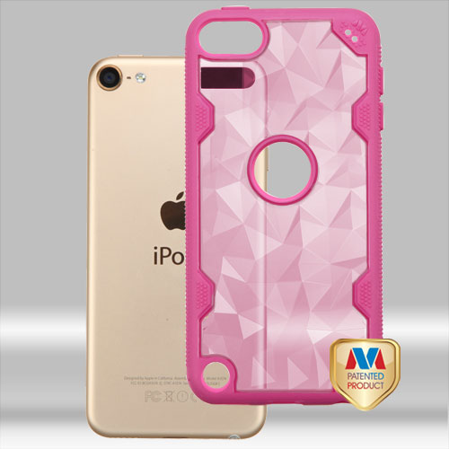 For iPod Touch 5th / 6th Gen Challenger Hybrid Protector Impact Armor Case Cover