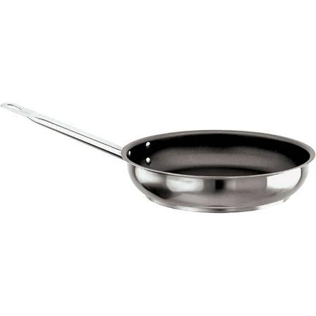 World Cuisine Stainless Steel Paella Pan - Paderno World Cuisine Grand Gourmet #1100 Non-stick Frying Pan, 15.75