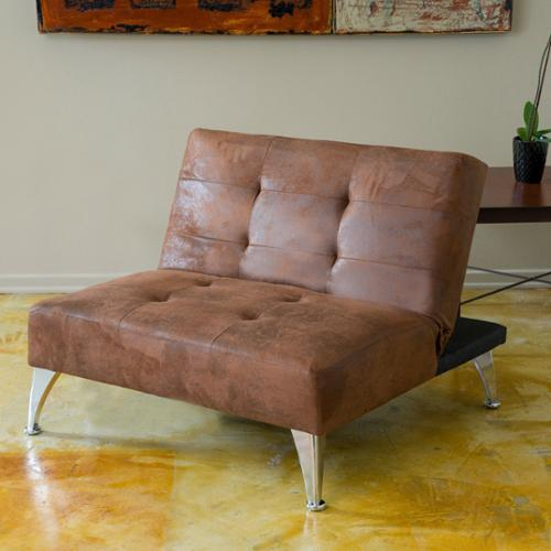 Christopher Knight Home  Alston Click-Clack Oversized Convertible Ottoman Chair