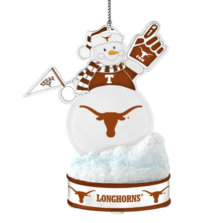 Texas Longhorns Ornament - LED Snowman](Texas Snowman)