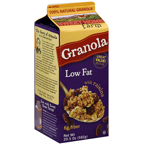 Sweet Home Farm Low-Fat Granola with Raisins, 20.5 oz (Pack of 8)