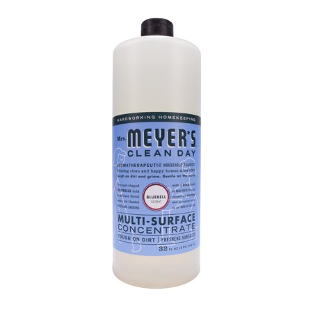 - Mrs. Meyer's Clean Day Multi-Surface Concentrate, Bluebell, 32 fl oz