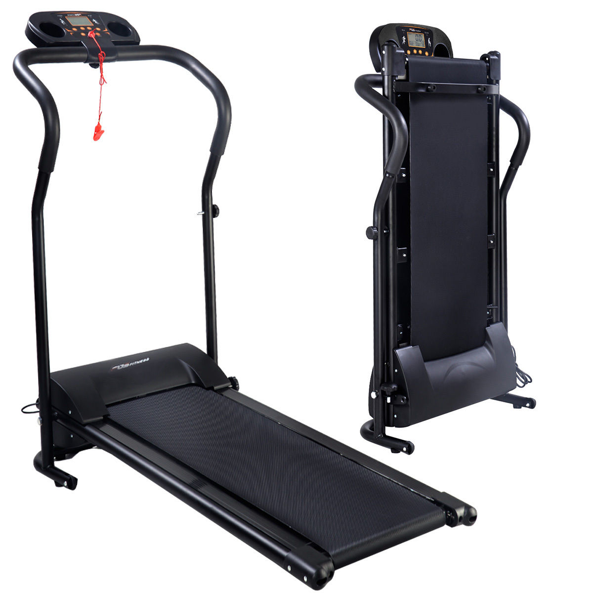 Costway Electric Treadmill 800W Folding Power Motorized Running Jogging Machine