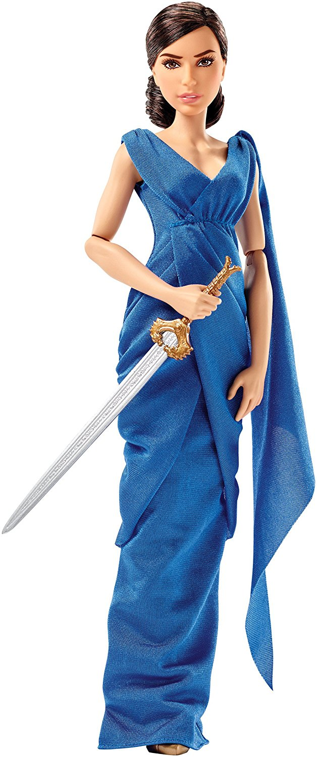 DC Comics Wonder Woman Diana Princess & Hidden Sword Doll..., By Mattel Ship from US by