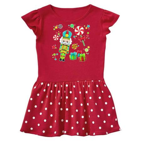 6e7c1a1f4 Holiday Nutcracker and Candy for Christmas Infant Dress - Walmart.com