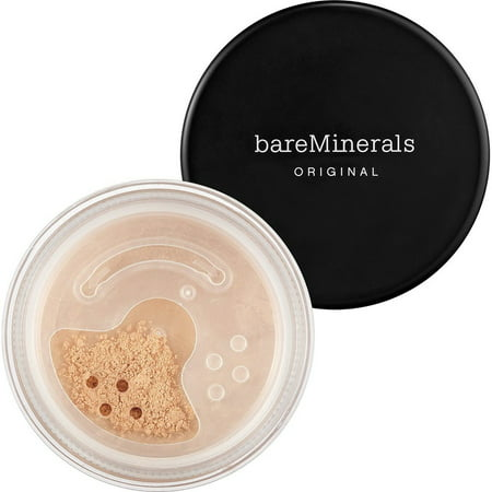 ($32 Value) BareMinerals Original Loose Powder Foundation SPF 15, 03 Fairly Light, 0.28 Oz