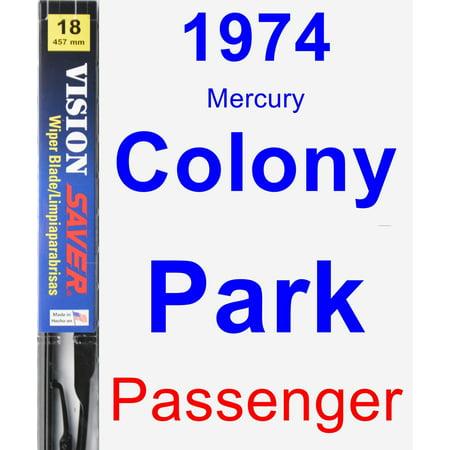 1974 Mercury Colony Park Passenger Wiper Blade - Vision Saver