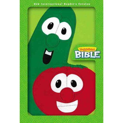 VeggieTales Bible: New International Reader's Version, Lime Green, Italian Duo-Tone