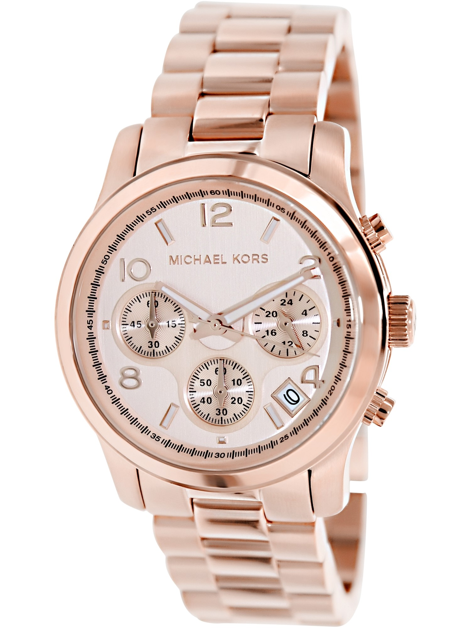 Rose Gold Stainless Steel Women's Watch, MK5128