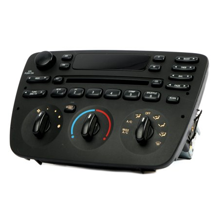 2000 Factory Radio - Ford Taurus 2000 2001 2002 2003 2004 AM FM CD Radio Fully Serviced with Warranty - Refurbished