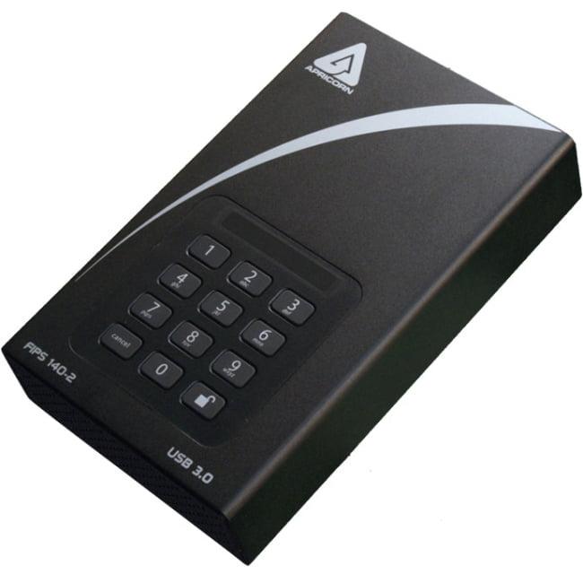 "Apricorn Aegis Padlock Dt Fips Adt-3pl256f-4000 4 Tb 3.5""..."