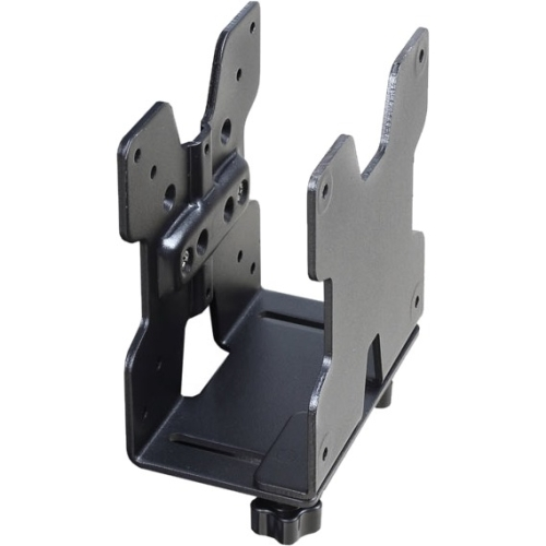 Ergotron Cpu Mount For Thin Client, Flat Panel Display - 6 Lb Load Capacity - Steel - Black (80-107-200)