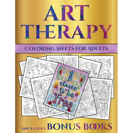 Halloween Coloring Sheets Pdf (Coloring Sheets for Adults (Art Therapy) : This book has 40 art therapy coloring sheets that can be used to color in, frame, and/or meditate over: This book can be)