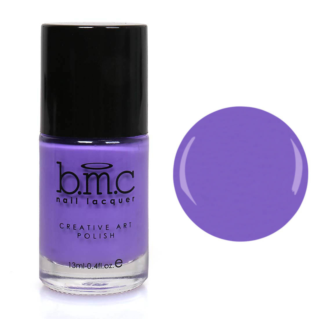 BMC Nail Stamping Lacquers - Creative Art Polish Collection - Purple Prince