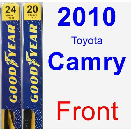 2010 Toyota Camry Wiper Blade Set/Kit (Front) (2 Blades) - Premium