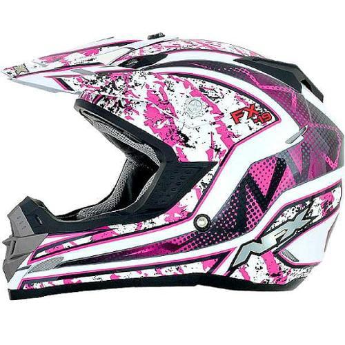 AFX FX-19 Vibe MX Helmet Fuchsia