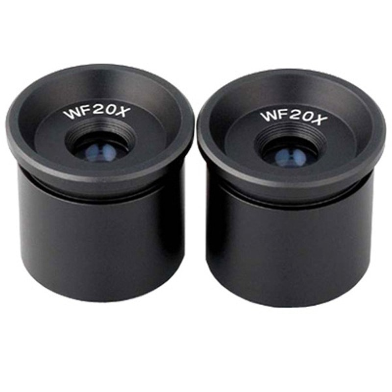AmScope Pair of WF20X Microscope Eyepieces (30.5mm) New