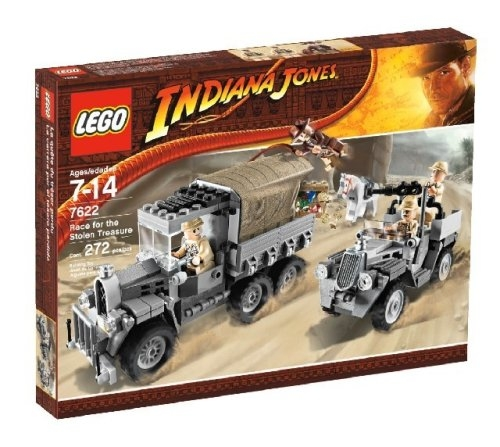 Lego Indiana Jones Race for the Stolen Treasure