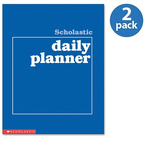 (2 Pack) Scholastic, SHS0590490672, Res. Grades K-6 Daily Planner, 1 Each
