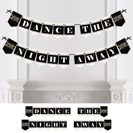 Prom - Prom Night Party Bunting Banner - Party Decorations - Dance The Night - Prom Night Decorations