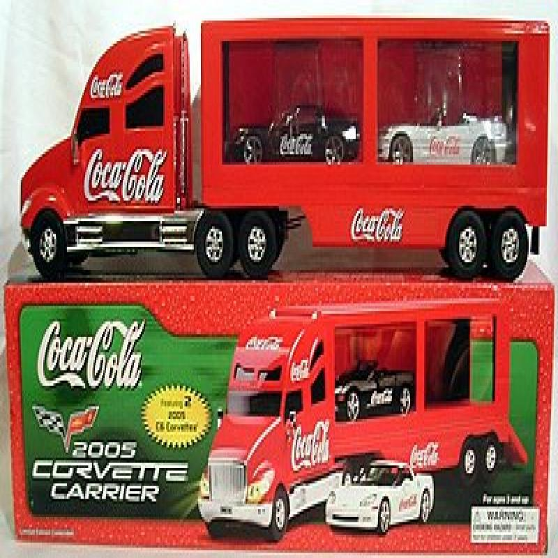 Coke Coca Cola 2005 Corvette Carrier Truck with Corvette ...