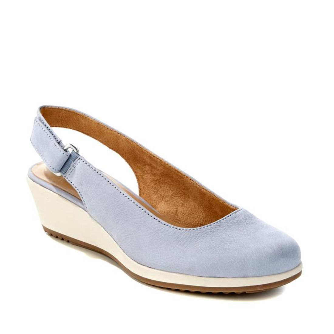 Naturalizer Bridget Slingback Leather Sport Wedge 548-379 by