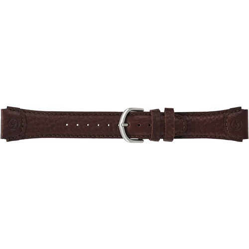 Timex Men's Expedition Sport 20mm Genuine-Leather Replacement Watch Band, Brown