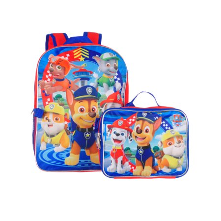 Paw Patrol Backpack with Lunchbox - Backpacks And Lunchboxes
