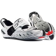 Northwave, Tribute, Triathlon shoes, Men's, White/Black, 48