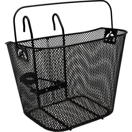 Topeak Bike Basket - Bell Tote 510 Metal Handlebar Basket, Black