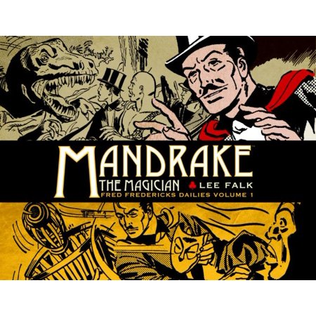 Mandrake The Magician Fred Fredericks Dailies 1