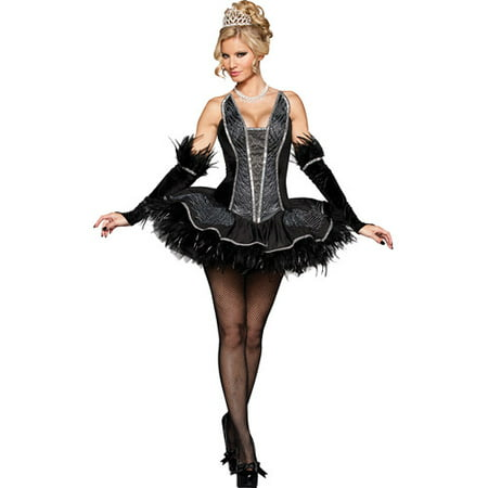 Seductive Swan Adult Halloween Costume - Seductive Costume