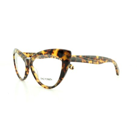 ZAC POSEN Eyeglasses VERUSHKA Tortoise (Black And Red Eyeglasses)
