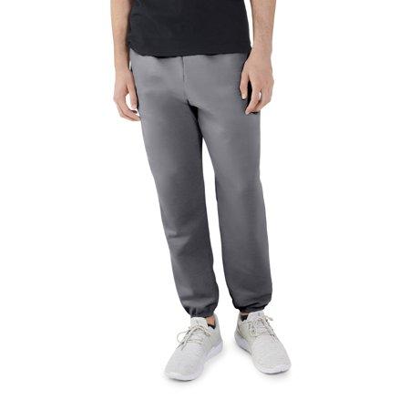 8 Kids Pants Sweatpants - Fruit of the Loom Big Men's Dual Defense EverSoft Elastic Bottom Sweatpants