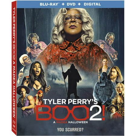 Tyler Perry's Boo 2! A Madea Halloween (Blu-ray + DVD) (VUDU Instawatch Included) - Halloween 2 Movie Cast