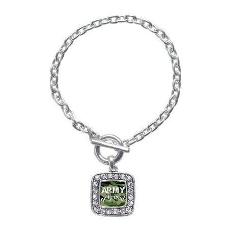 Army Girlfriend Classic Charm Toggle Bracelet