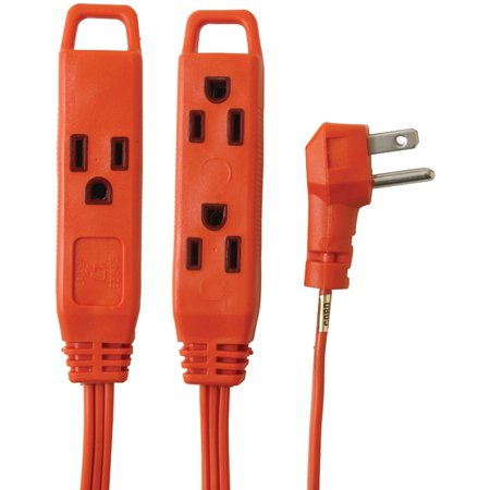 Brand New AXIS 45516 3-Outlet Indoor Extension Cord, 8ft (New Axis)