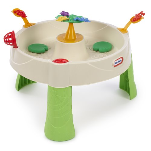 Little Tikes Frog Pond Outdoor Round Sand and Water Table
