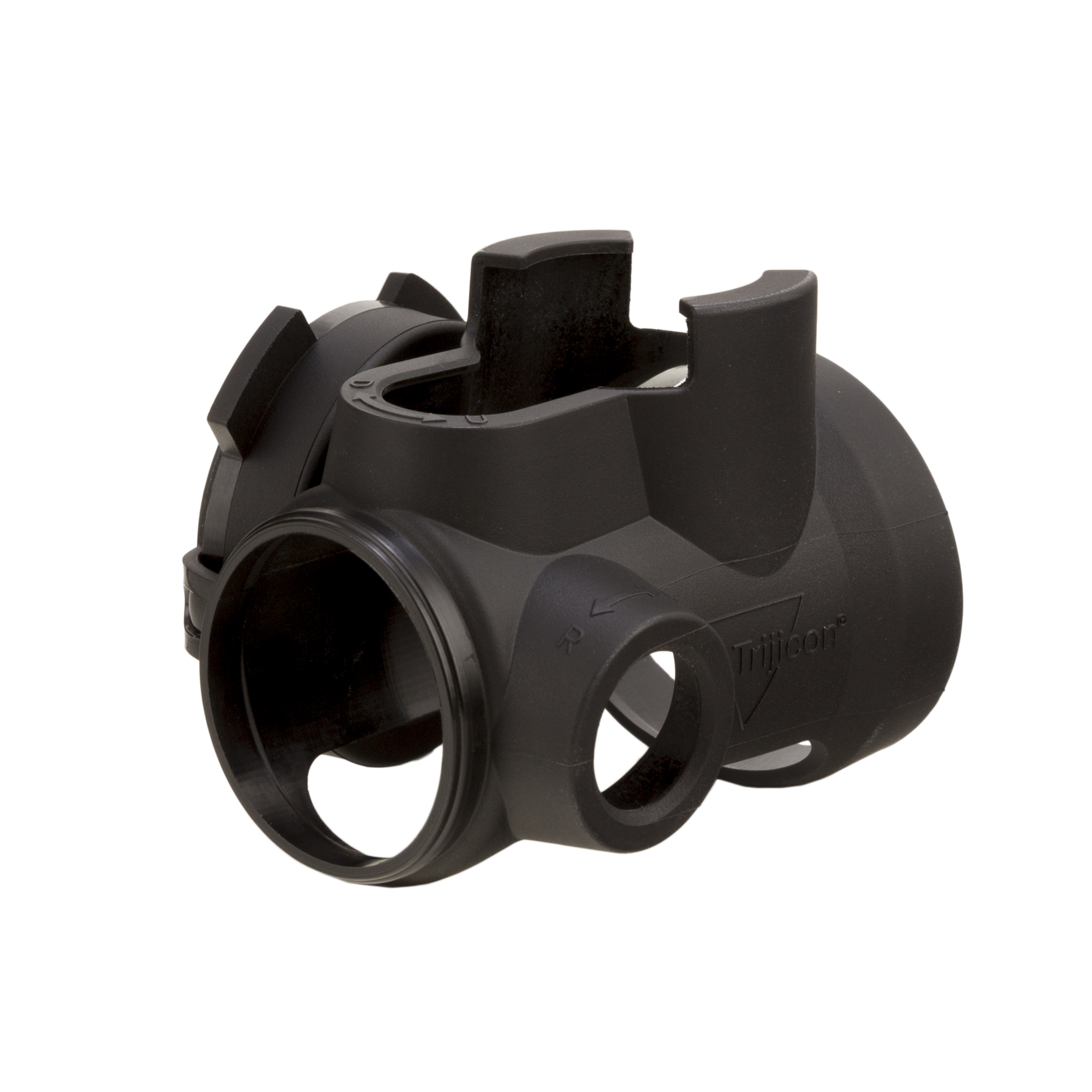 Trijicon MRO Slip-On Protective Cover w/ Clear Lens Caps (Black) - AC31021