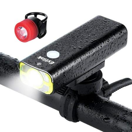HERCHR Bicycle Light USB Charging 400lm Mountain Bike Light