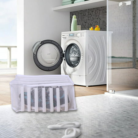 Mesh Shoes Washing Bag Washing Machine Dedicated Washing and Protecting Bag for Sports and Leisure Shoes - image 1 of 9