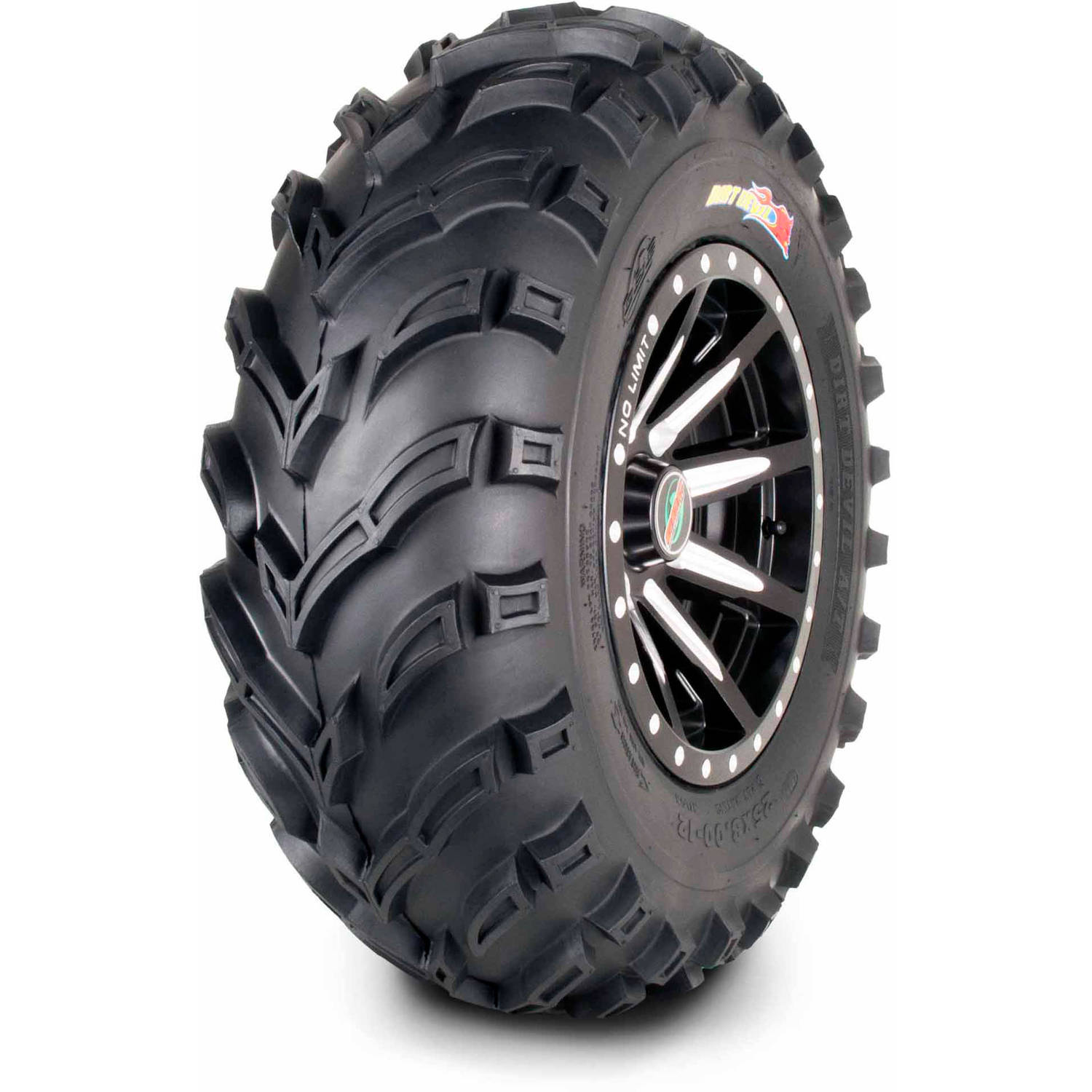 GBC Motorsports Dirt Devil 25X8.00-12 6 Ply ATV/UTV Tire (Tire Only)
